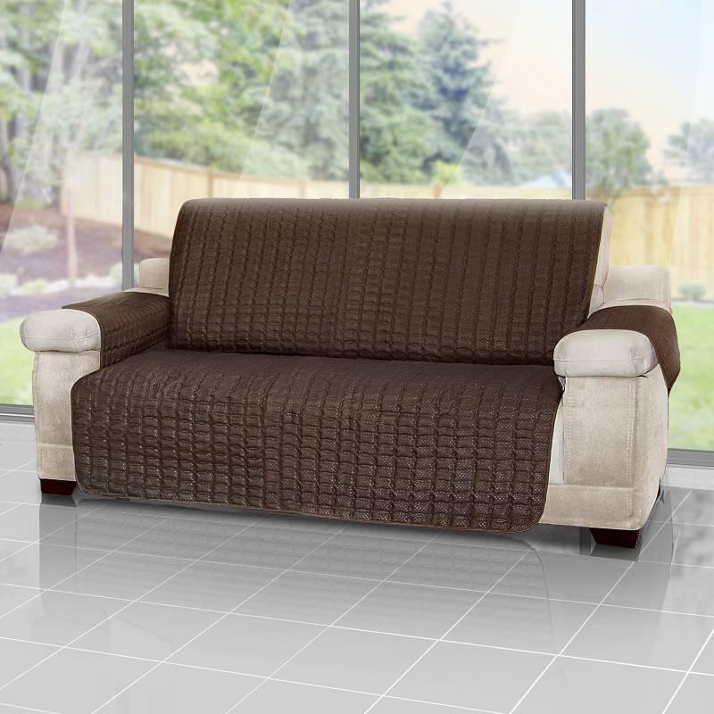 Energy Plus - Forro protector de sofá y muebles reversible