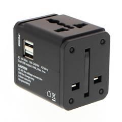 KLIP - Adaptador Universal 2 Puertos USB