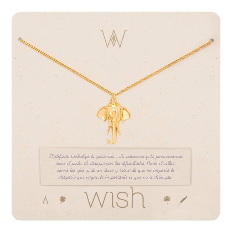 Wish - Collar Wish Oro Elefante WHCLCD027O