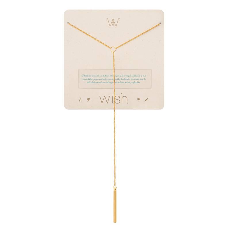 Wish - Collar Wish Oro Balance Y WHCLCD301O