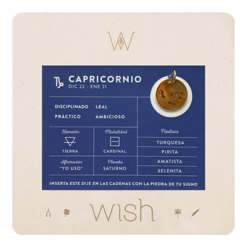 Wish - Dije Wish Capricornio WHCODI315O