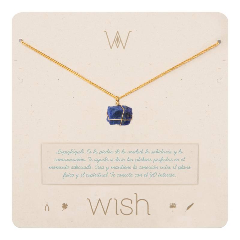 Wish - Collar Wish Oro Lapislazuli WHCLCD049O