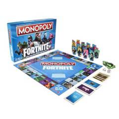 Hasbro Games - Juego de Mesa Monopoly Fortnite