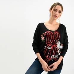 Camiseta Mujer Manga Larga Desigual