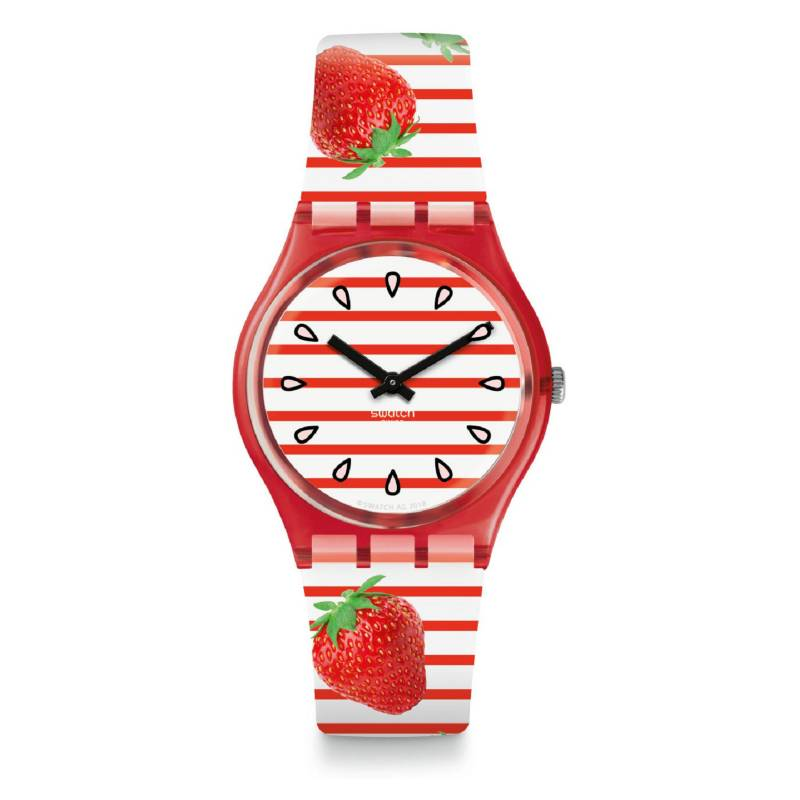 Swatch - Reloj Mujer Swatch Toile Fraisee GR177