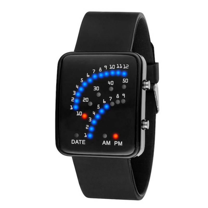 GENERICO - Reloj Deportivo Digital Multicolores Unisex 1223