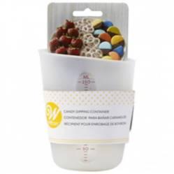 Wilton - Taza silicona para Chocolate