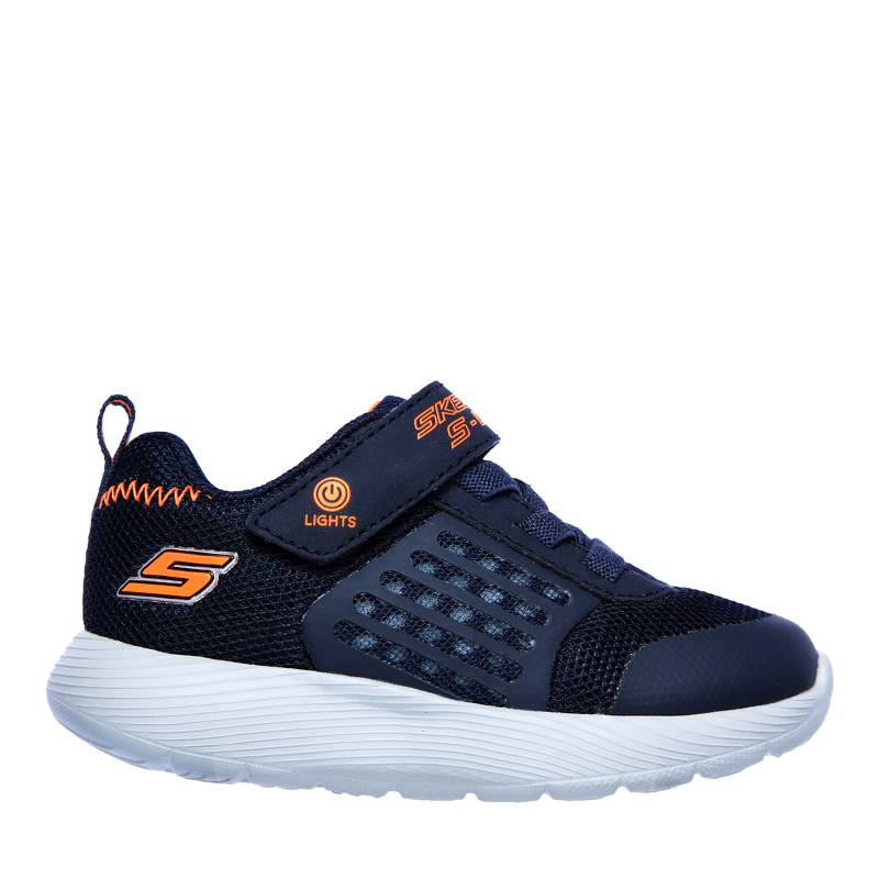 Skechers - Tenis Deportivos Niño S Lights: Dyna Lights