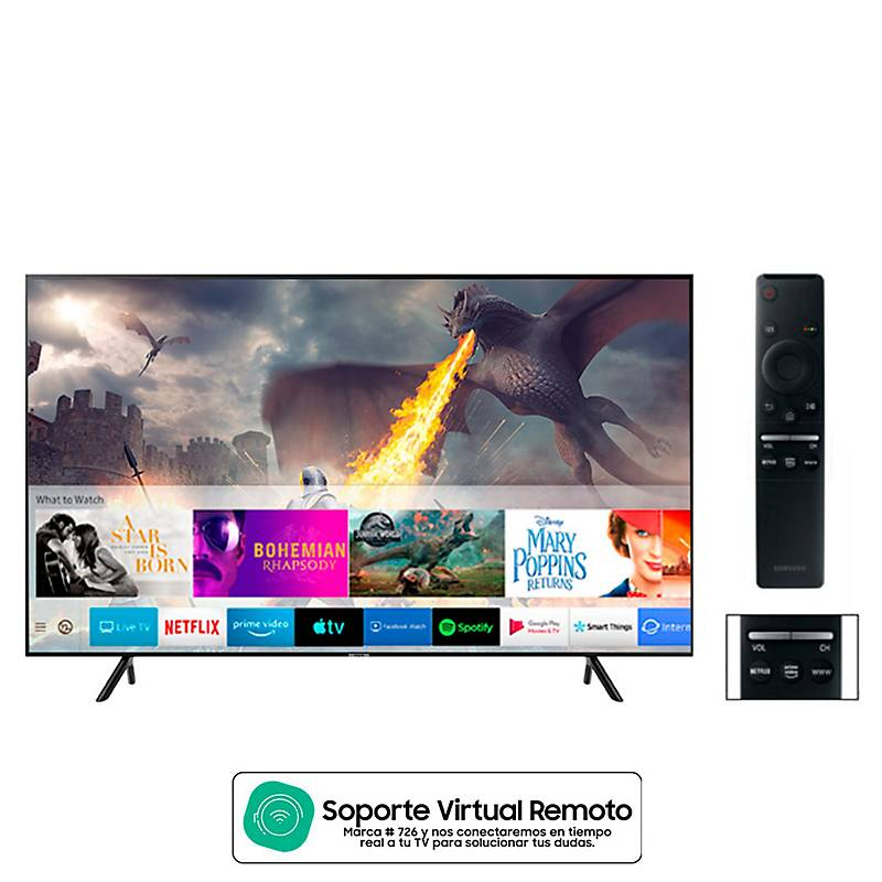 Televisor Samsung Smart Tv 70 Pulgadas Uhd 4K UN70RU7100KXZL