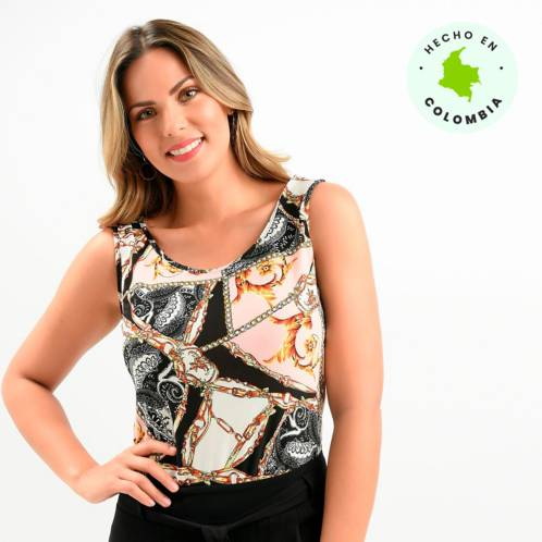 Top Mujer Sin Mangas Southland