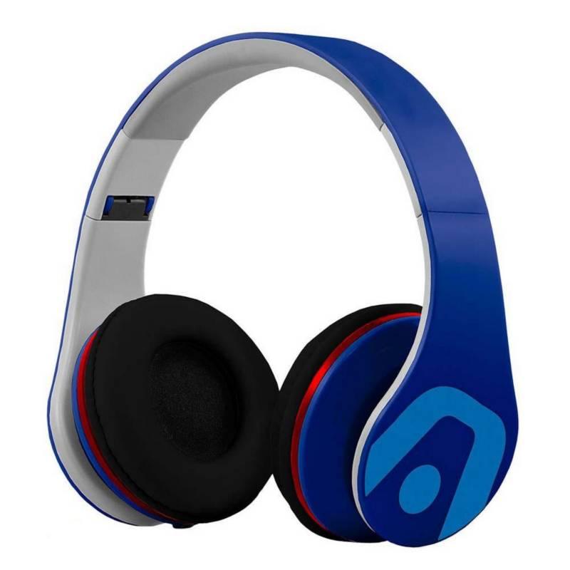Argomtech - Audífonos Ultimate sound dj pro-azul