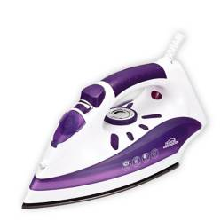 Plancha a vapor Home Elements antiadherente morado