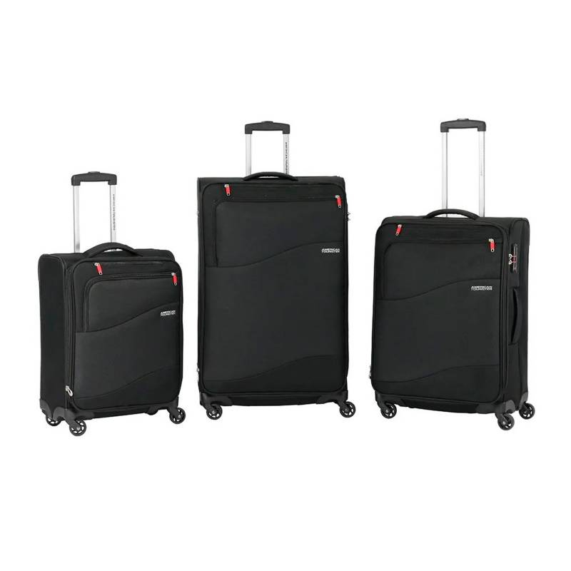 American Tourister - Set de maletas blandas American Tourister Spring Lite