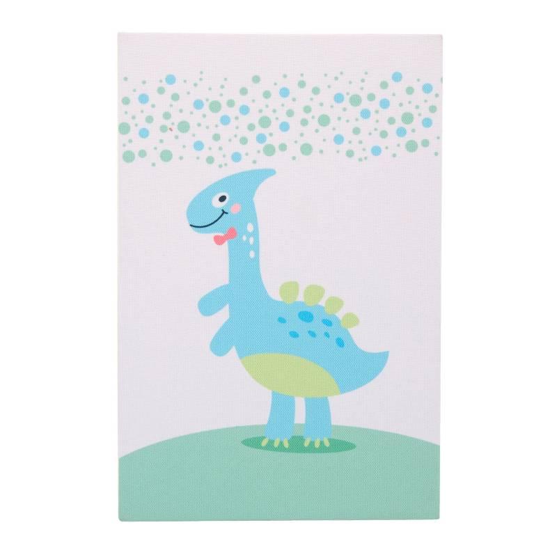 Aloha baby - Cuadro bebé estampado Hello Dino