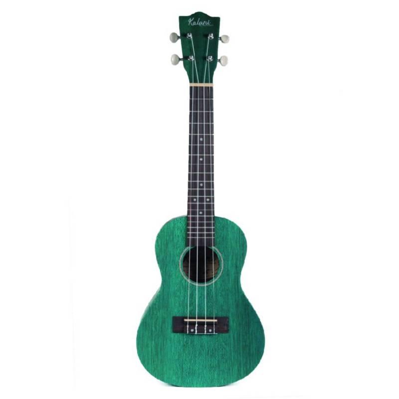 Kalani - Ukulele concierto verde-aguamarina uk-23 tbl