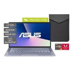 Asus - Portátil Asus Zenbook 14 pulgadas AMD RYZEN R5 8GB 256GB