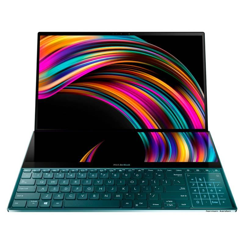 Asus - Portátil Asus Zenbook Pro Duo 15.6 4K Intel Core i7 H 16GB 1TB SSD