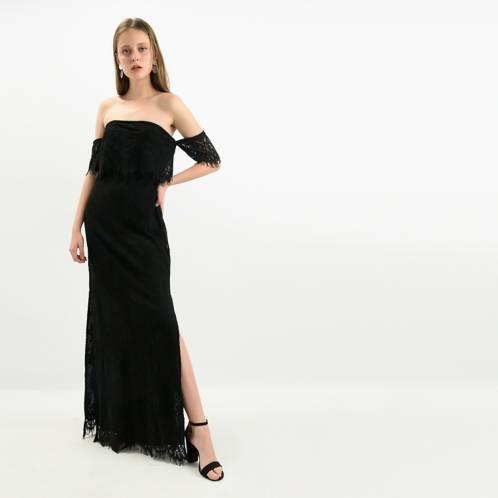 NAF NAF - Vestido elegante largo Naf Naf