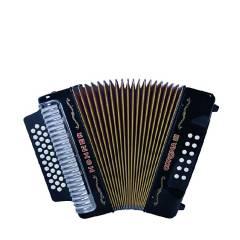 Hohner - Acordeón corona iii negro - besas - hohnerHohner