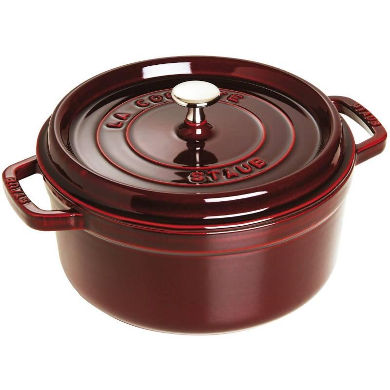 Staub - Cocotte 26 cm diámetro color rojo granadinaStaub