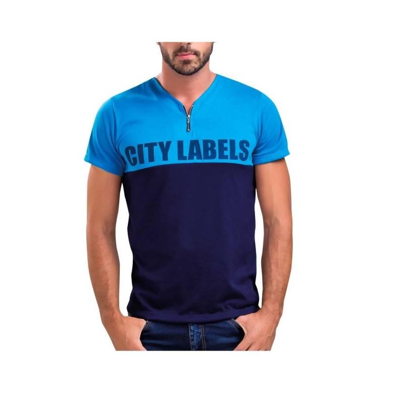 MARKETING PERSONAL - Camiseta Adulto Masculino Azul  43976Marketing Personal