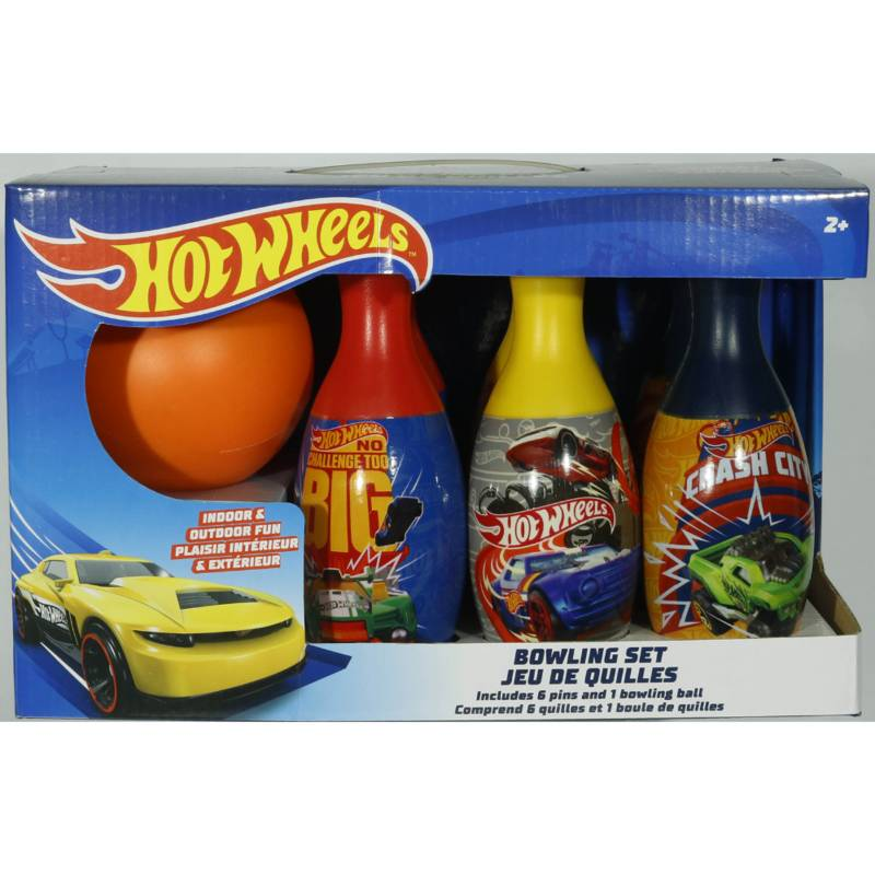 Boing Toys Exclusivos - Juego Deportivo Set de Bolos Hot Wheels