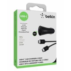 Belkin - Cargador Para Auto Belkin Usb A Tipo-C NegroBelkin