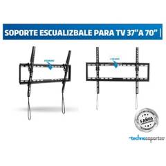 Technosoportes - Soporte escualizable para tv de 32 a 70 pulgadas
