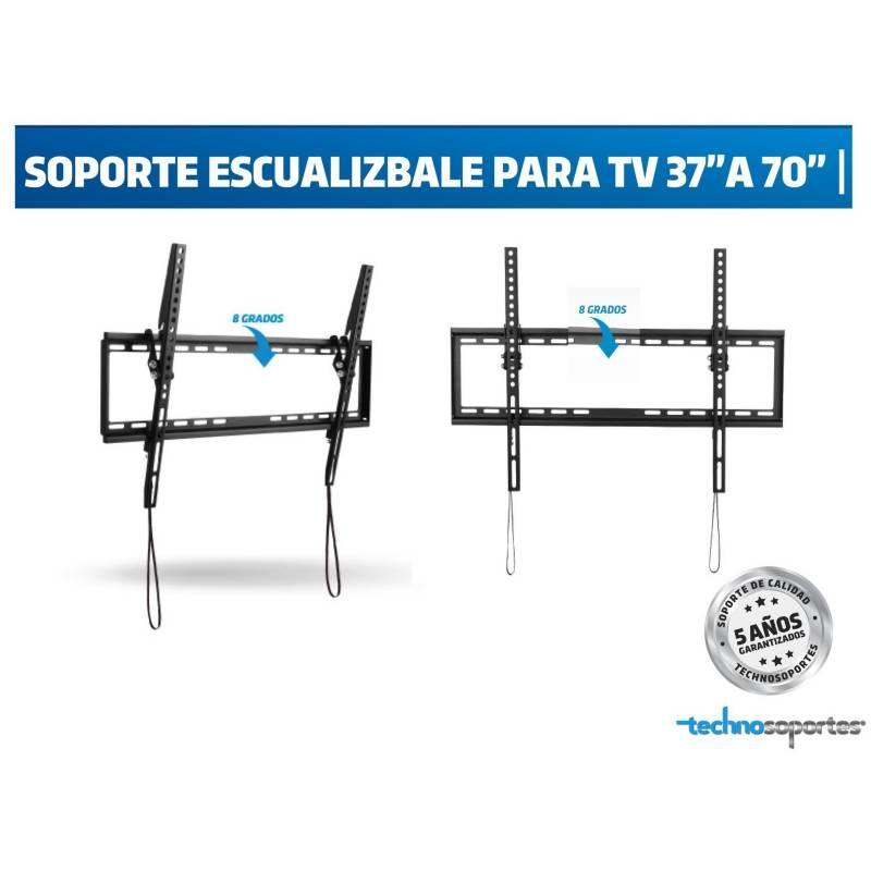 """Technosoportes - Soporte escualizable para tv de 32"""" a 70"""""""