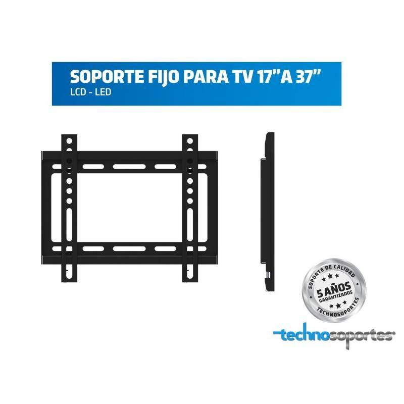 Technosoportes - Soporte fijo para tv 27 a 37 pulgadas