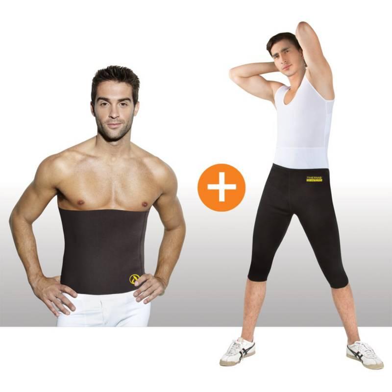THERMO SHAPERS - Combo Para Hombre X2: Pantalón + CinturillaThermo Shapers