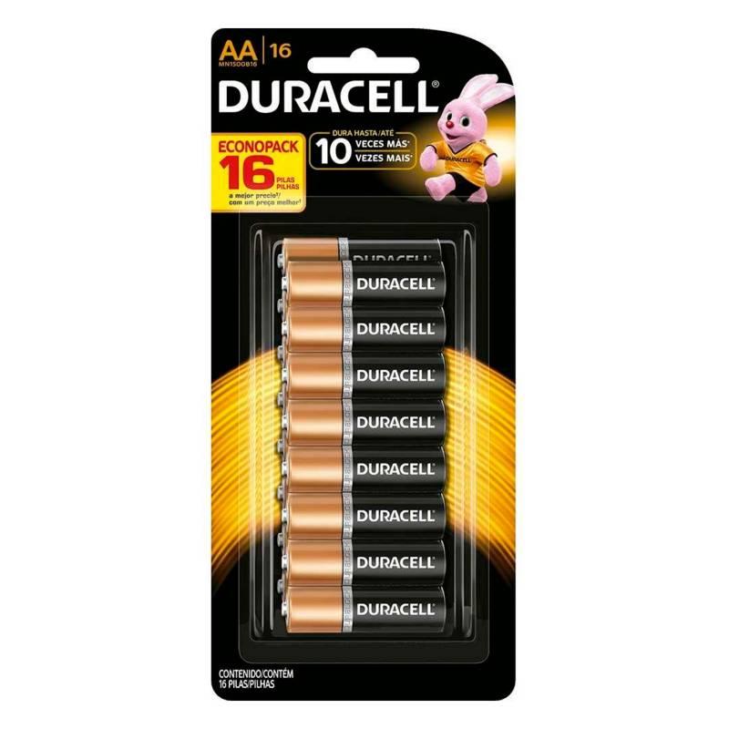 DURACELL - Pilas Duracell AA Blister x 16