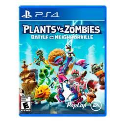 Videojuego Plants Vs Zombies 3 PS4