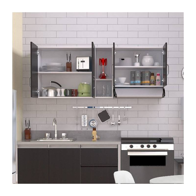 Maderkit - Gabinete superior de cocina color wn/bl 00067
