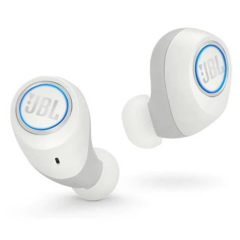 JBL - Audifonos Bluetooth Jbl Free In-Ear Blanco