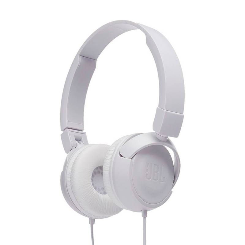JBL - Audifonos Diadema Alambrico Jbl T450 Blanco