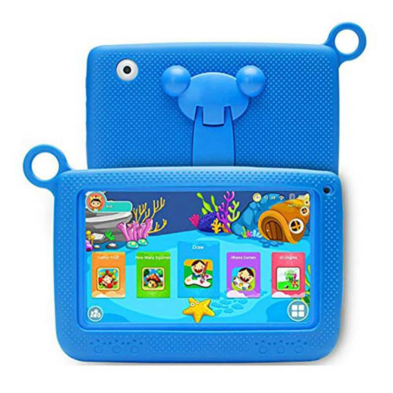 - Tablet Krono kids wifi, 1gb ram, 2 cámaras azul