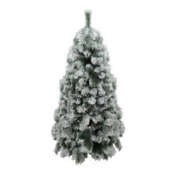 Deckorar - Árbol de navidad pino nevado 180 centímetros