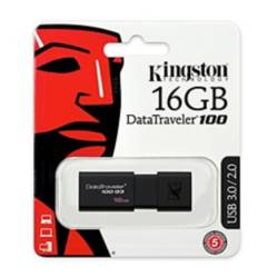 Kingston - Memoria Usb Kingston 16Gb  3.0 Retractil