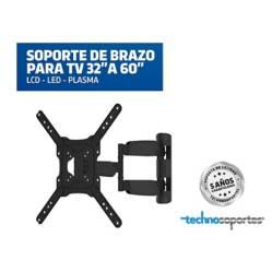 Technosoportes - Soporte de brazo para tv 32 a 65 pulgadas