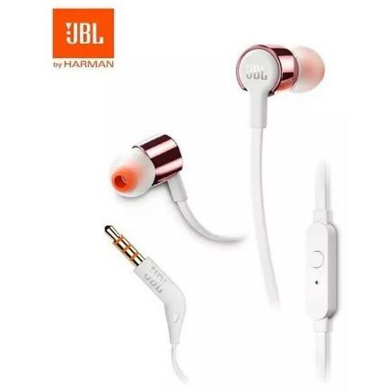 JBL - Audifonos In Ear Manos Libres Jbl T210 Rosa