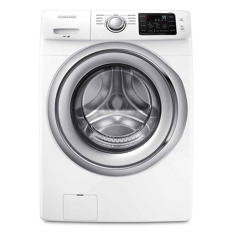Samsung - Wf18h5000aw-lavadora carga frontal 18 kg  - blanca