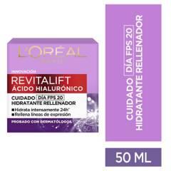 Loreal - Reafirmante Revitalift Ácido Hialurónico Día 50 ml