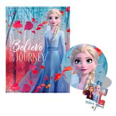 Frozen - Rompecabezas 50 Pzs Esfera Metálica Frozen 2