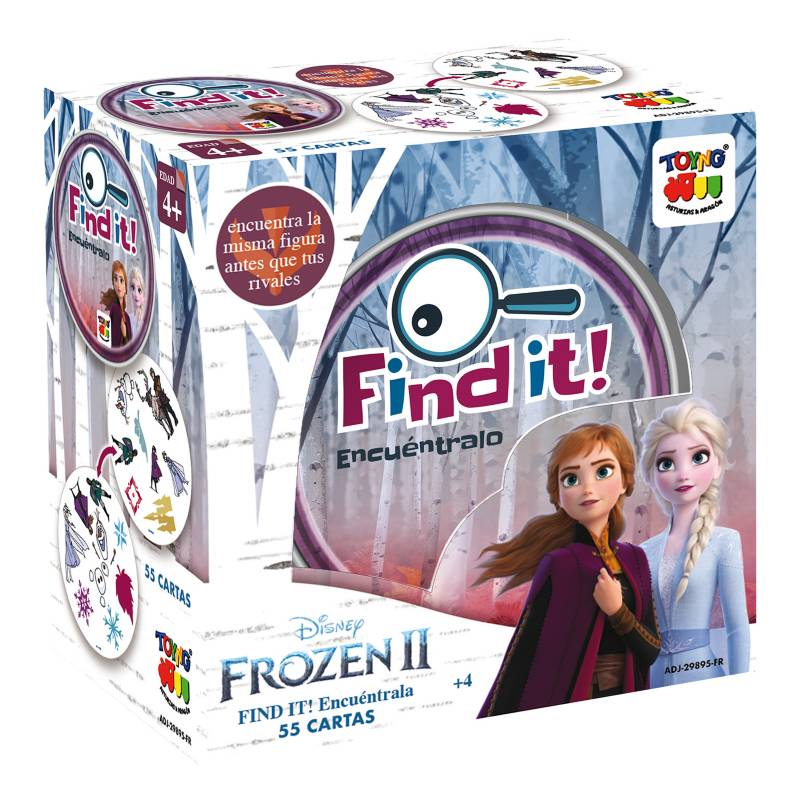 Frozen - Find It Caja Metálica