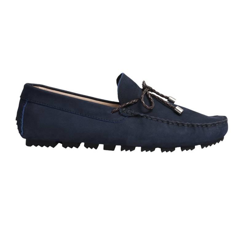 F NEBULONI - Zapato Hombre F.Nebuloni Casual Mocasín Blue Night