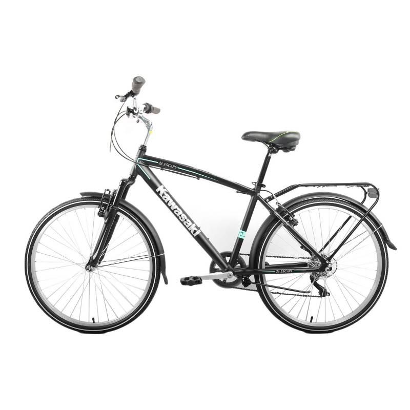 Kawasaki - Bicicleta Urbana Kawasaki City Men 26 Pulgadas