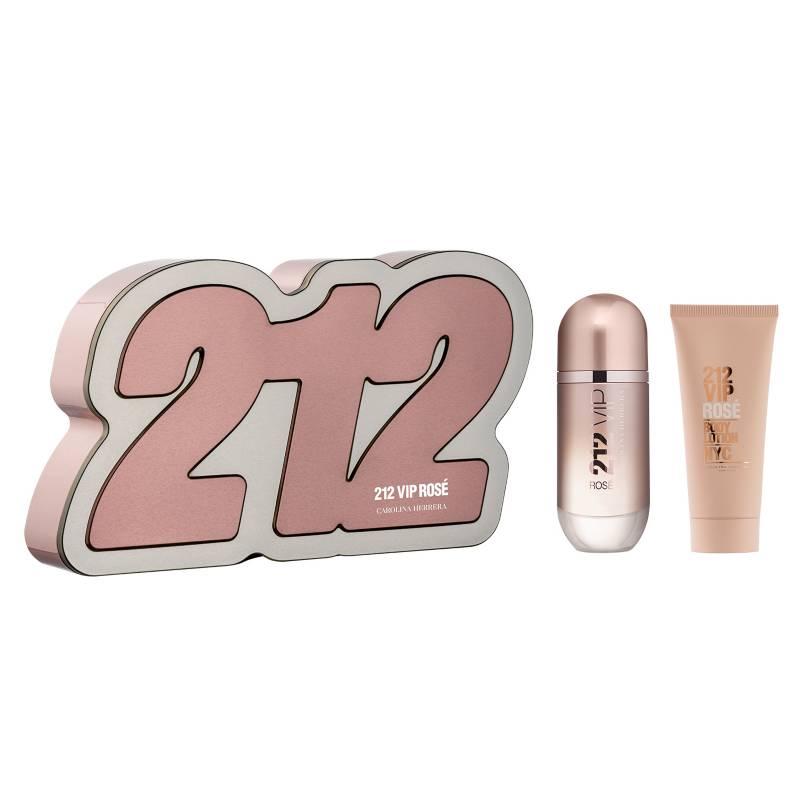Carolina Herrera - Set de Perfume Carolina Herrera 212 Vip Rosé Mujer