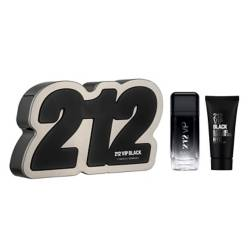 Set de Perfumería 212 Vip Black EDP 100 ml + Gel de Baño 100 ml