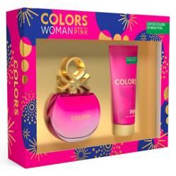 Benetton - Set de Perfume Benetton Colors Pink Mujer